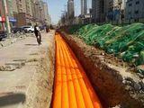 HDPE电力波纹管